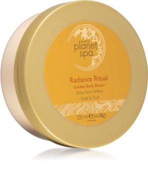 Avon Planet Spa Radiance Ritual tělové máslo s hydratačním a zklidňujícím účinkem