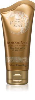 Avon Planet Spa Radiance Ritual mascarilla facial hidratante con oro