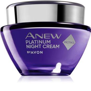 Avon Anew Platinum crema de noapte efect intens anti-rid
