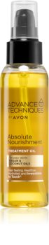 Avon Advance Techniques Absolute Nourishment aceite nutritivo para cabello con aceite de argán