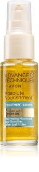 Avon Advance Techniques Absolute Nourishment серум за коса с арганово масло