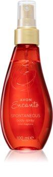 Avon Encanto Spontaneous parfümiertes Bodyspray