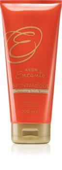Avon Encanto Spontaneous освітлююче молочко для тіла
