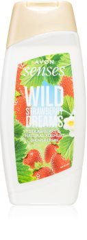 Avon Senses Wild Strawberry Dreams Zachte Douchegel  met Aardbeien Geur