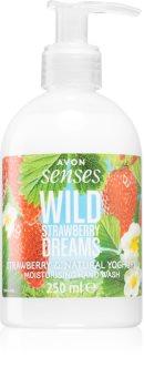 Avon Senses Wild Strawberry Dreams Hand Soap With Aromas Of Strawberries