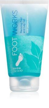 Avon Foot Works Peppermint & Aloe Vera крем для ног