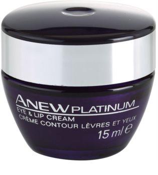 Avon Anew Platinum crema zona ochilor si a buzelor