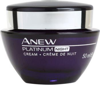 Avon Anew Platinum нощен крем  против дълбоки бръчки