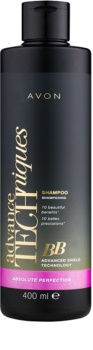 Avon Advance Techniques Absolute Perfection BB šampon pro regeneraci a ochranu vlasů
