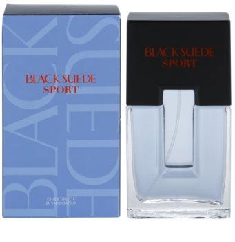 Avon Black Suede Sport Eau de Toilette para homens 75 ml