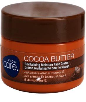 Avon Care ревитализиращ хидратиращ крем за лице с какаово масло