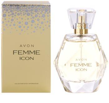 Avon Femme Icon eau de parfum para mulheres 50 ml