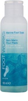 Avon Foot Works Healthy banho para pés com sal marinho