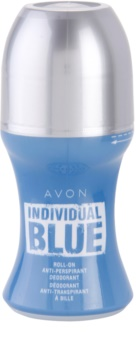 Avon Individual Blue for Him déodorant roll-on pour homme