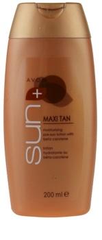 Avon Sun Self Tan loção hidratante pré-solar com betacaroteno