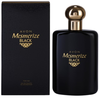 Avon Mesmerize Black for Him Eau de Toilette für Herren
