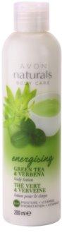 Avon Naturals Body feuchtigkeitsspendende Körpermilch mit grünem Tee und Verbena