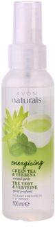 Avon Naturals Body spray corporal com chá verde e verbena