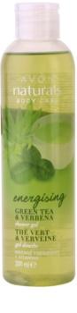 Avon Naturals Body gel de banho tonificante com chá verde e verbena