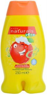 Avon Naturals Kids Hiustenpesu- Ja Hoitoaine 2 in 1 Lapsille