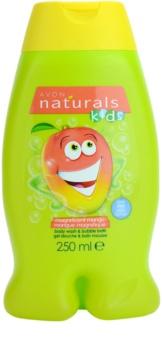 Avon Naturals Kids пена для ванны и гель для душа 2в1 для детей