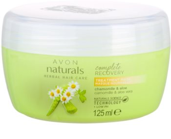 Avon Naturals Herbal maska pre normálne vlasy