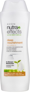 Avon Nutra Effects Nourish leche corporal nutritiva de ducha