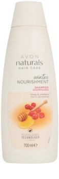 Avon Naturals Hair Care champô nutritivo com mel e arando para todos os tipos de cabelos
