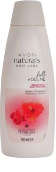 Avon Naturals Hair Care champú para cabello fino y lacio