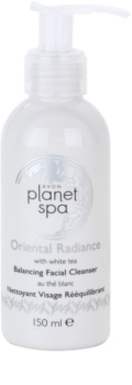 Avon Planet Spa Oriental Radiance gel detergente viso con the bianco