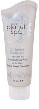Avon Planet Spa Oriental Radiance maschera peel-off energizzante per il viso con the bianco
