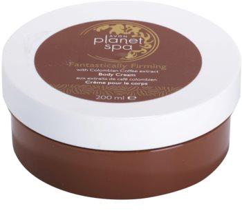 Avon Planet Spa Fantastically Firming Åtstramande kroppskräm Med extrakt av kaffe