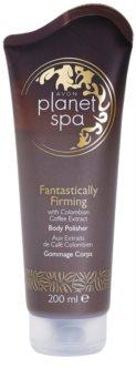 Avon Planet Spa Fantastically Firming укрепляющий пилинг для тела с экстрактом кофе