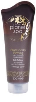 Avon Planet Spa Fantastically Firming зміцнюючий пілінг для тіла з екстрактом кави