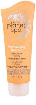 Avon Planet Spa Chinese Ginseng máscara peel-off de revitalização facial