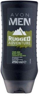 Avon Men Rugged Adventure gel de duche para homens 250 ml