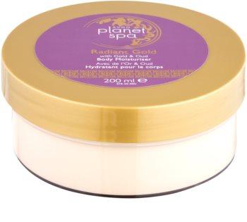 Avon Planet Spa Radiant Gold creme corporal para iluminação e hidratação