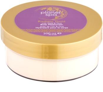 Avon Planet Spa Radiant Gold krema za telo za osvetljevanje kože in hidratacijo