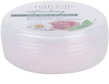 Avon Naturals Refreshing hydratační gel s růží, mátou a heřmánkem