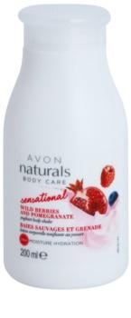 Avon Naturals Body Care Sensational leite corporal suavizante com iogurte