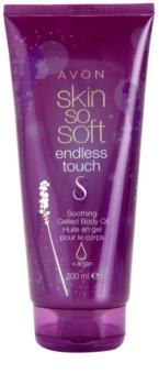 Avon Skin So Soft Endless Touch zklidňující gelový tělový olej