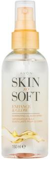 Avon Skin So Soft třpytivý olej na tělo