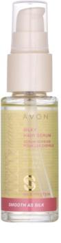 Avon Advance Techniques Smooth As Silk sérum pour des cheveux soyeux