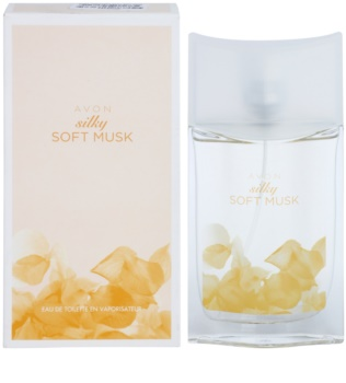 Avon Silky Soft Musk Eau de Toilette für Damen