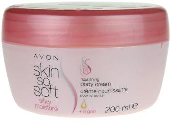 Avon Skin So Soft Silky Moisture крем за тяло