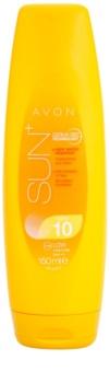 Avon Sun hydratisierende Sonnenmilch LSF 10