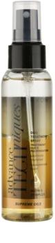 Avon Advance Techniques Supreme Oils intensywnie odżywiający spray z luksusowymi olejkami do wszystkich rodzajów włosów