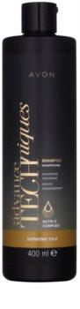 Avon Advance Techniques Supreme Oils champú nutritivo intensivo con aceites exclusivos para todo tipo de cabello