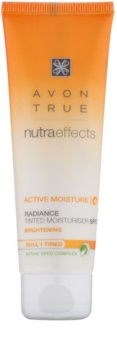 Avon True NutraEffects crema nuantatoare hidratanta de zi SPF 20