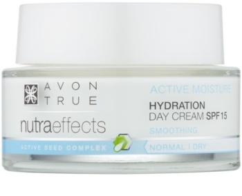 Avon True NutraEffects crema de zi hidratanta SPF 15